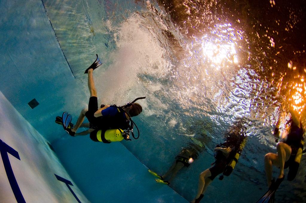 Cours de plongée mons